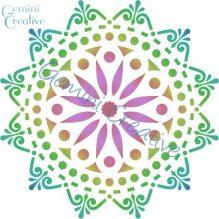 Large doily mandala stencil, made in Australia by Gemini Creative