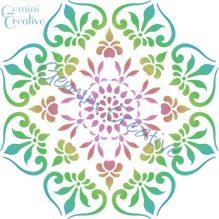 Australian made, large mandala stencil by Gemini Creative