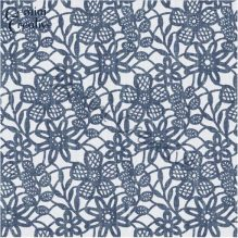 Floral lace stencil by Gemini Creative, Australian made, large wall or furniture stencil