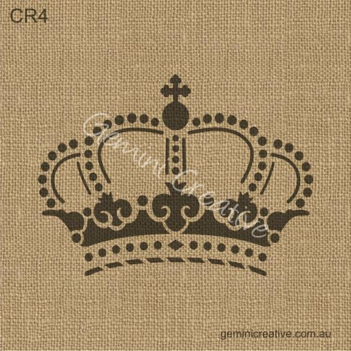 Crown Stencil