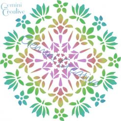 Floral mandala stencil, made in Australia by Gemini Creative