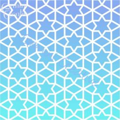 Moroccan stars stencil, made in Australia by Gemini Creative