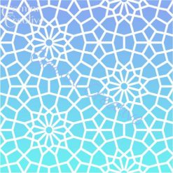 Nador Moroccan stencil, made in Australia by Gemini Creative
