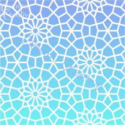 Nador Moroccan stencil, made in Australia by Gemini Creative