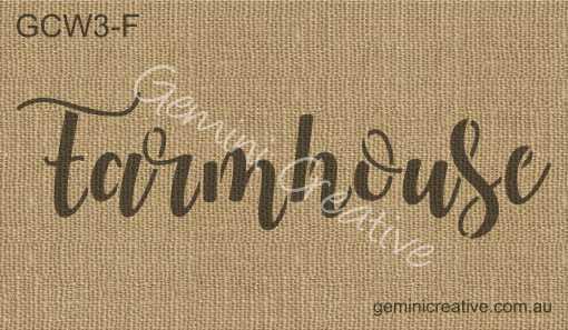 Font W Word Stencils